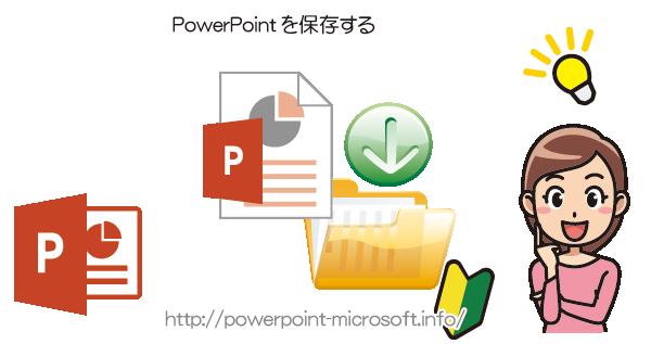 PowerPointのプレゼンテーションファイルを保存する