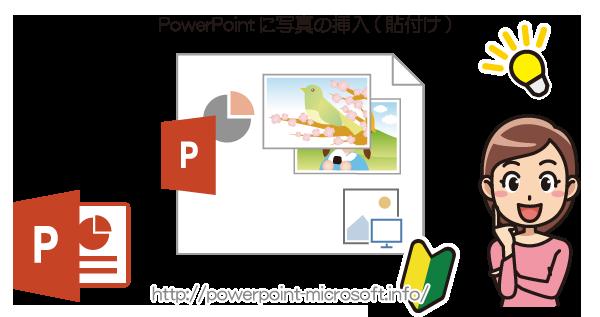 PowerPointに画像を挿入する/貼付ける