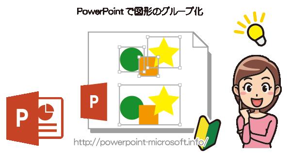 複数の図形のグループ化/グループ化解除|PowerPointの使い方