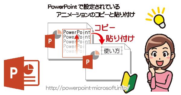 PowerPointのアニメーション効果をコピーする